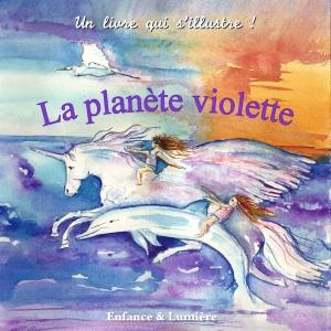 La planète violette- couverture